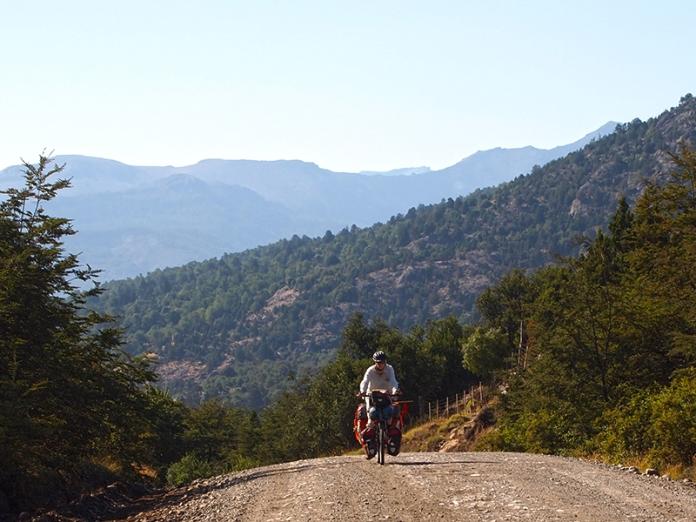 Aufstieg zum Paso Hua Hum