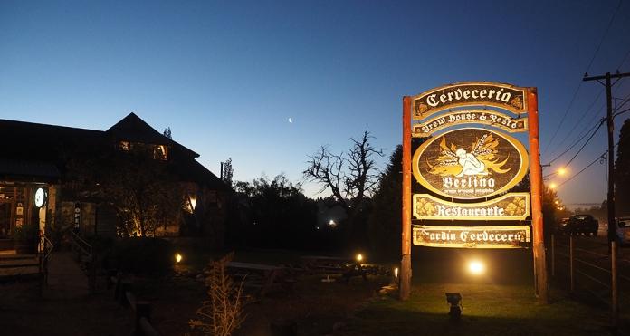 Berlina, die wohl bester Bierbrauerei in Bariloche